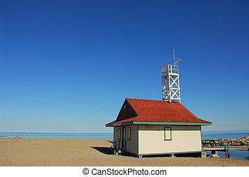 Beach - Lifegurad\\\'s house on a beach