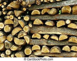 Firewood - Stack of firewood