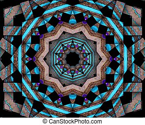 Spiritual Core - Mixed media-digital art and art work all...