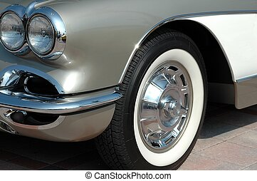 Car Show - Photographed a classic car at a car show in...