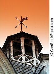 Weather vane. - An old weather vane.