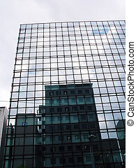 Japan Hiroshima Mirrored Building