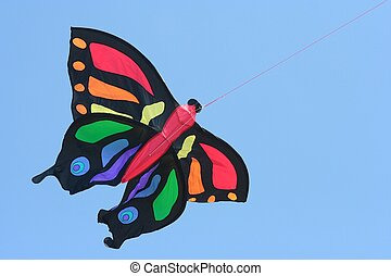 kite - A butterfly shaped kite