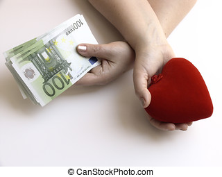 Money or love - In the life this sometimes happens: an...