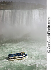 Niagara Falls - Maid of the Mist ; Tourism in Niagara