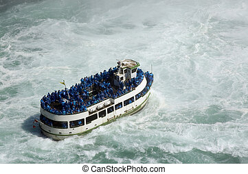 Maid of the Mist  - Niagara Falls Tourism ; Boat