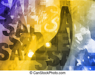 Bargain Sale abstract background. Concept for shopping,...