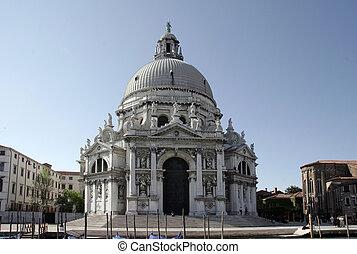 S Maria d Salute 02 - Basilica S Maria d Salute in venice,...