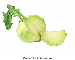 fresh and sweet kohlrabi - OLYMPUS DIGITAL CAMERA kohlrabi -...