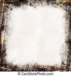 Grunge background - Detailed grunge background