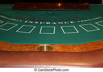 Blackjack 2 - Blackjack table in Casino