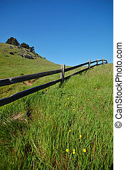 Mt Tamaplais Trail - Trail on Mt Tamapalais, Marin Conty, in...