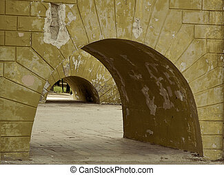 arches - Old wall and arches