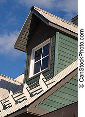 Okno mansardowe, okno