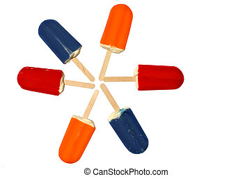 popsicles - ice cream on a stick