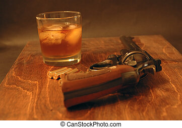 Wild West - 357 Magnum and Whiskey