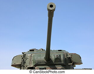 tank turret - turret of a vintage tank