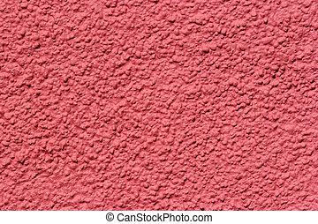 Coral Pink Pebble Dash - Coral pink pebble dash.