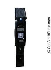 Solar Powered Pay and Display Ticket Machine