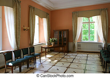 Palace interior - Neoclassical residence room