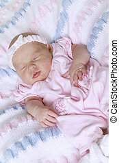 nouveau né, bébé, girl