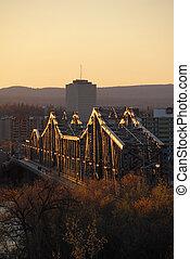 Bridge - Outaouais river bridge