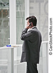 phoning - businessman phoning