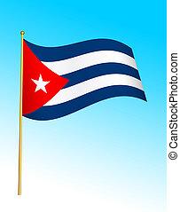 Flag - Cuba 2