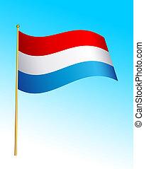 Flag - Netherlands - 2
