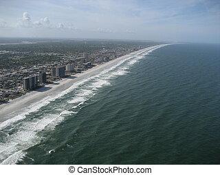 aerial of florida coastline2