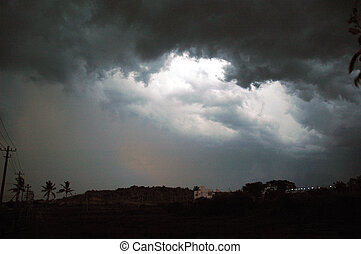 storm - monsoon clouds