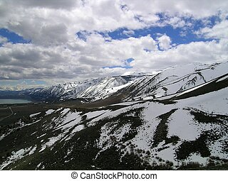 Birds Eye View - View from the Conway Pass, in the Eastern...