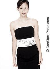 Pale Beauty - A pale asian beautiful woman