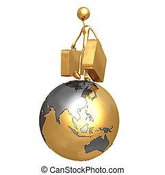 World Travel - Concept & Presentation Figure 3D