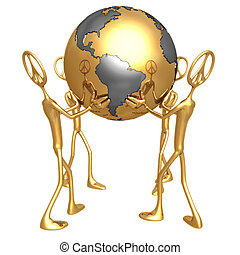 World Peace - Concept Presentation Figure 3D