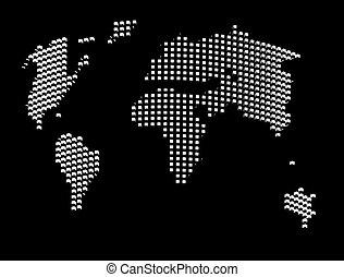 地球, 地図