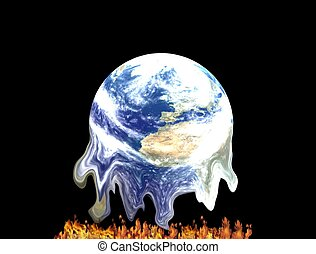 global warming - earth and global warming