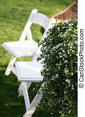 stol, gräsmatta, Gräs