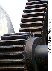Gears - Old steel gears