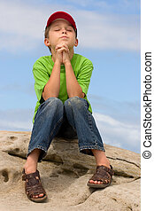Prayer - A child in prayer