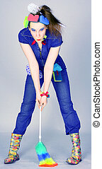 Cleaning Lady - Studio