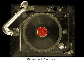 Record player - Old phonograph