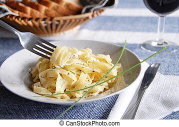 Pasta - italian dinner