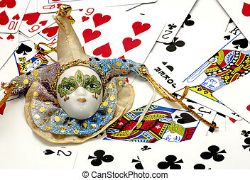 Jester - Court Jester and Playing Cards