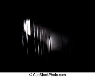 Light Rays Through a Window