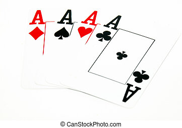 Four Aces - Card Games - Poker