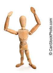 Figurine - Standing - Figurine Pose - Stading and Waving