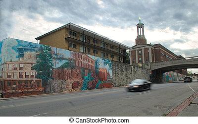 Joliet, historical site, IL. USA