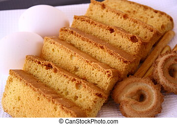 rusk cake & biscuit