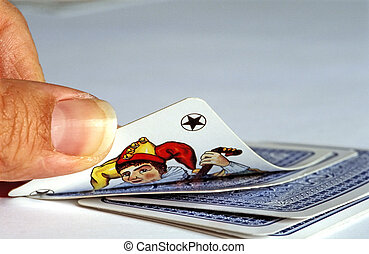 joker - seems to be a good card! symbolic for success, luck...